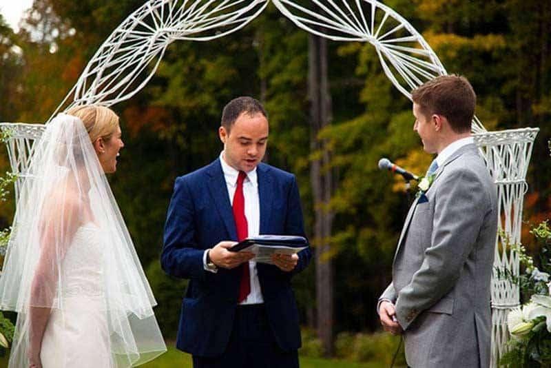 Out Door Wedding Ceremony