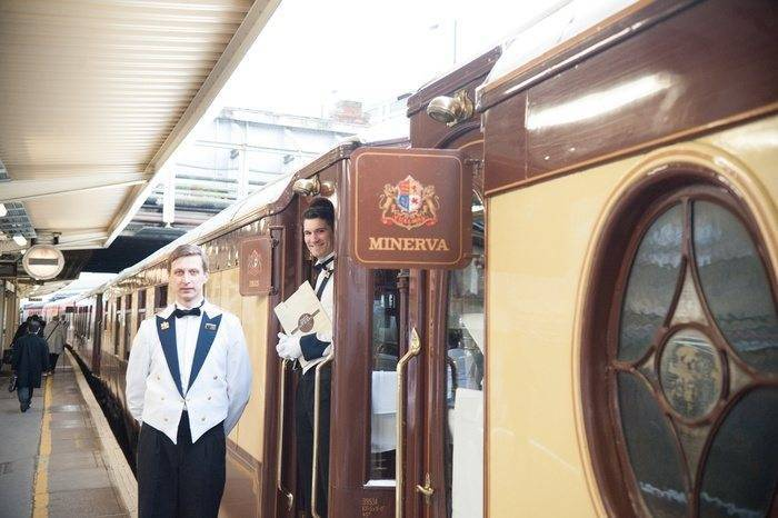 Immaculate Steward Waiting to Assist Us On the Orient Express