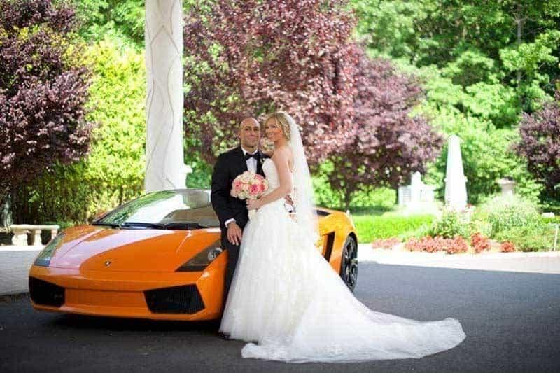 Bride with Car