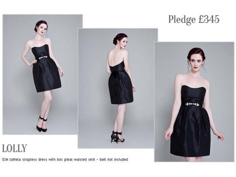 Emma Hunt Black Dress