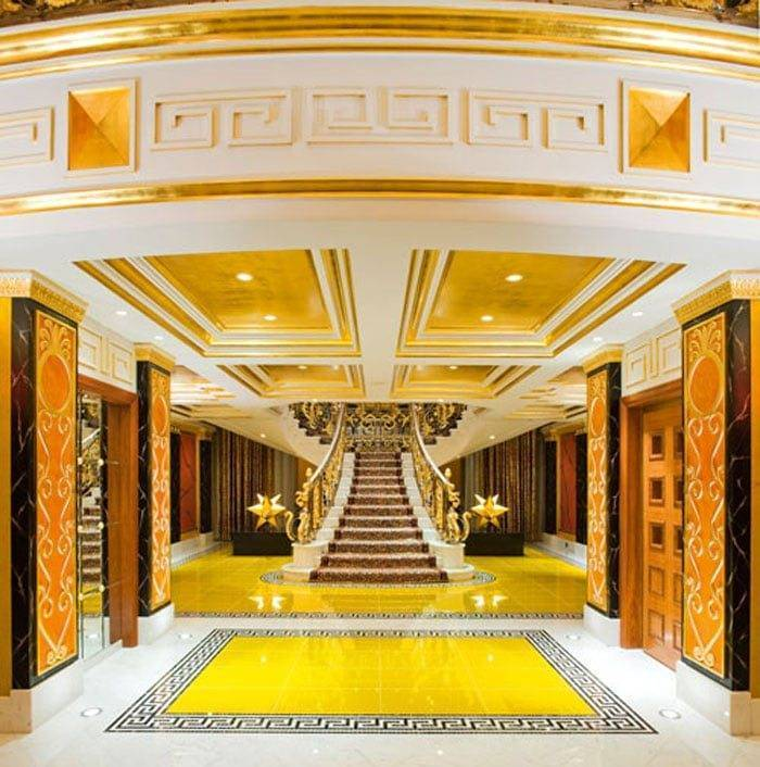The Royal Suite Entrance Burj Al Arab