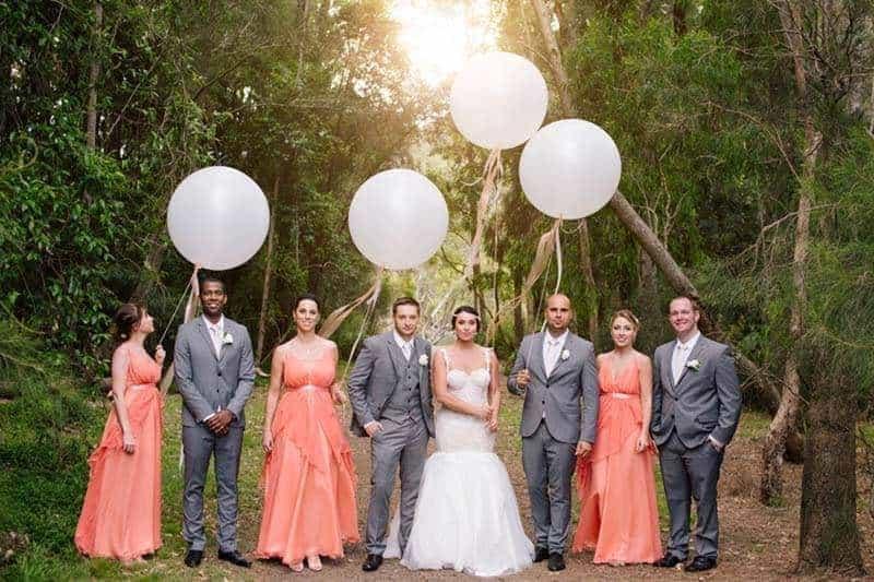 17cd1001 ea56 4713 8f14 5d5d9d421e4f - Real Wedding: Midsummer Night Dream In A Secret Garden