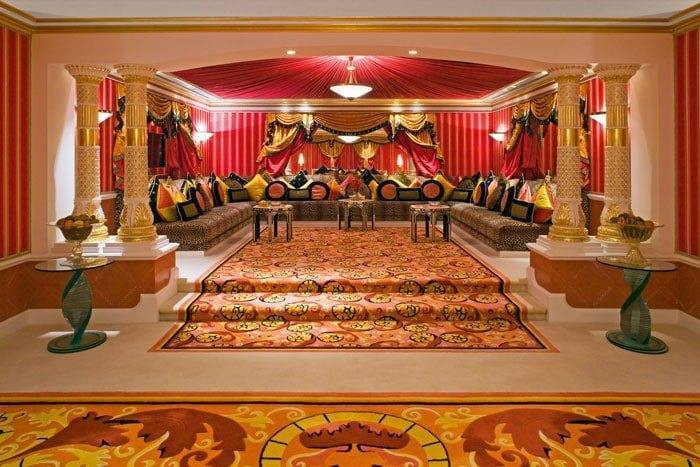 Burj Al Arab Royal Suite majilis