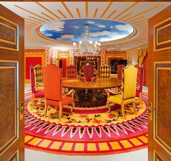 Burj Al Arab Royal Suite Dining Room
