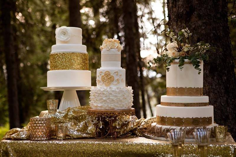 Enchanting Forrest Wedding Cakes