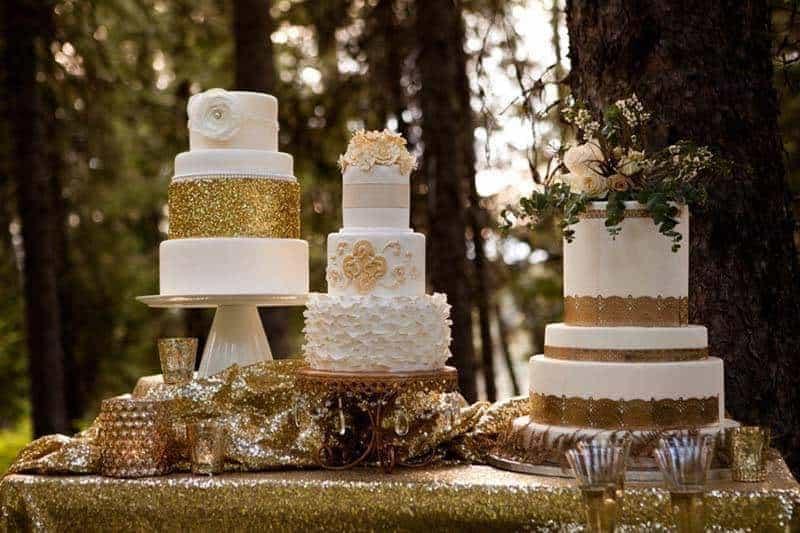 Enchanting Forrest Wedding Cakes