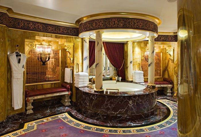 Burj Al Arab Royal Suite Bathroom