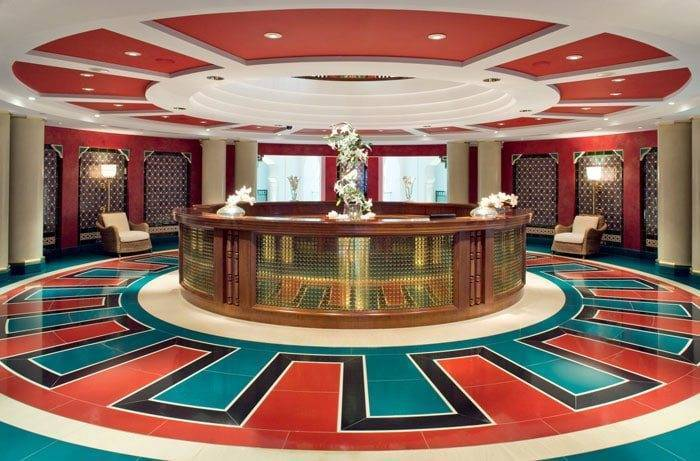 Burj Al Arab Reception