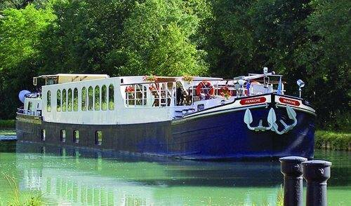 Luxury River Barge
