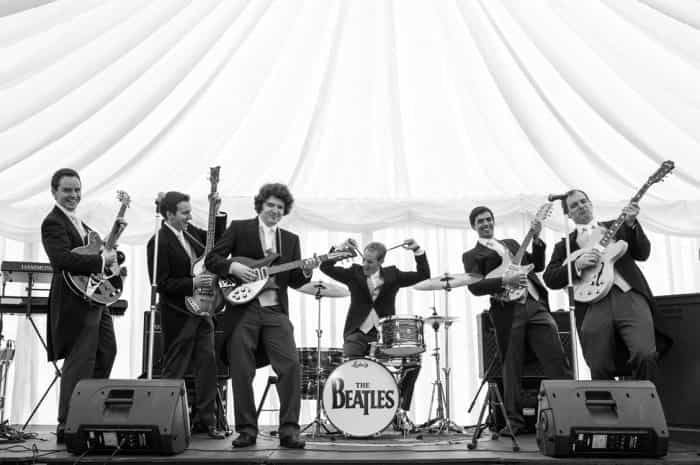 Real Wedding blog - Live Band