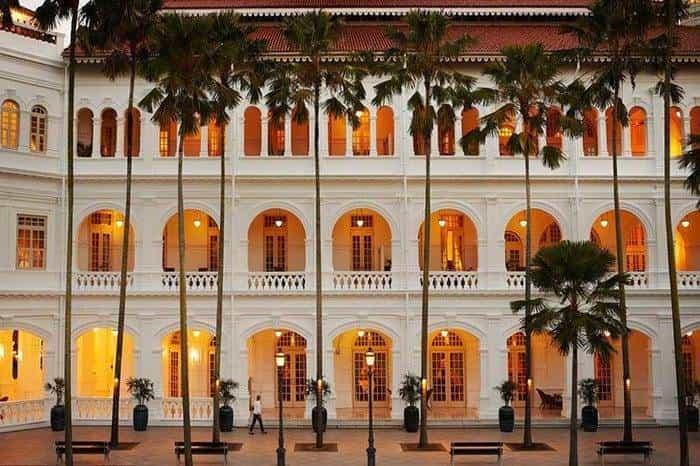 Raffels Singapore Palm Court