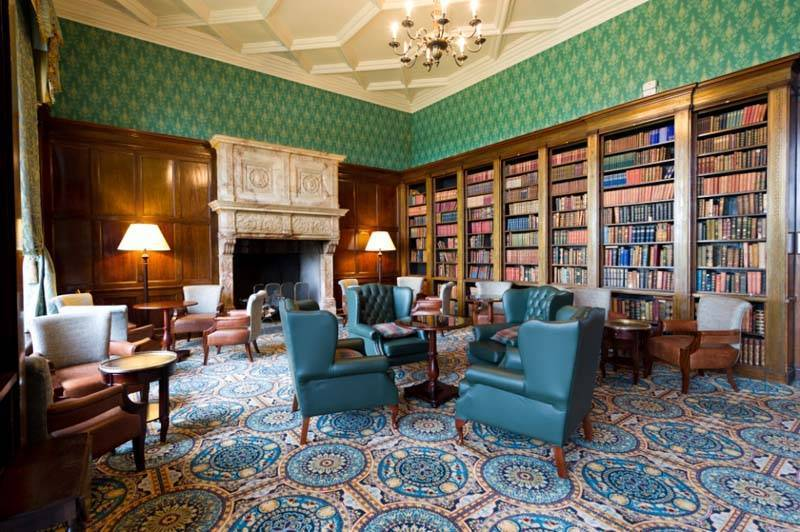 Library Bar Hanbury Manor