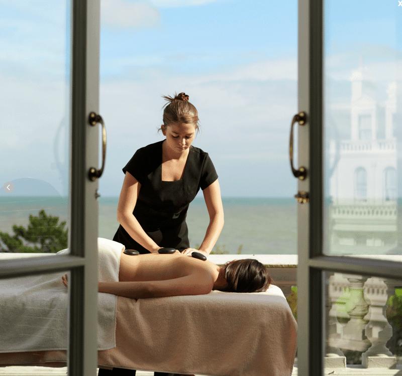 Spa treatment at The Grad Hotel