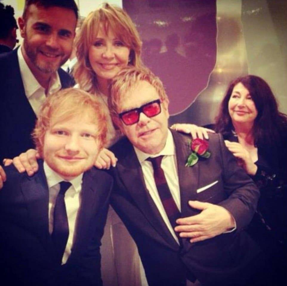 Celebrity Wedding Guests At Sir Elton John's Wedding