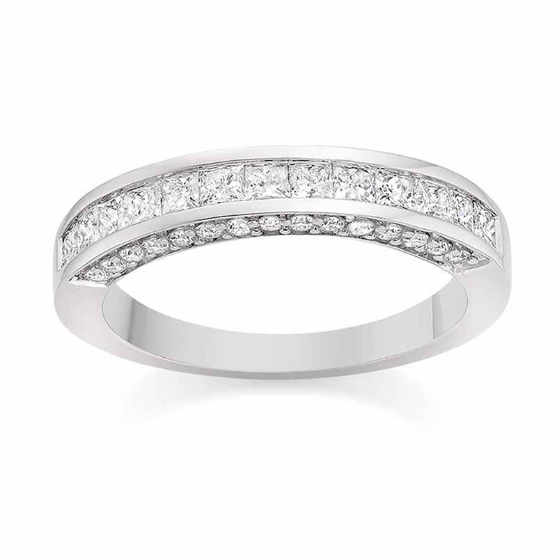 Channel and Pave Set Diamonds