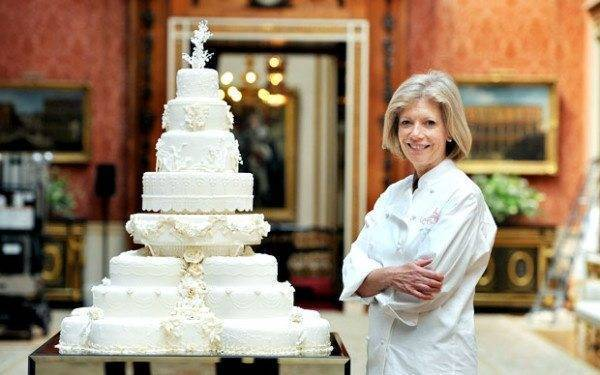Fional Carins Royal Wedding Cake