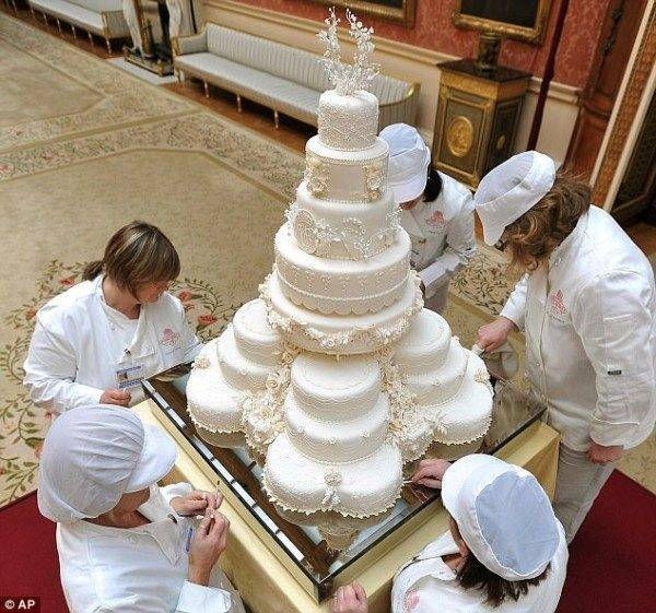 William and Kate Wedding Cake Auction
