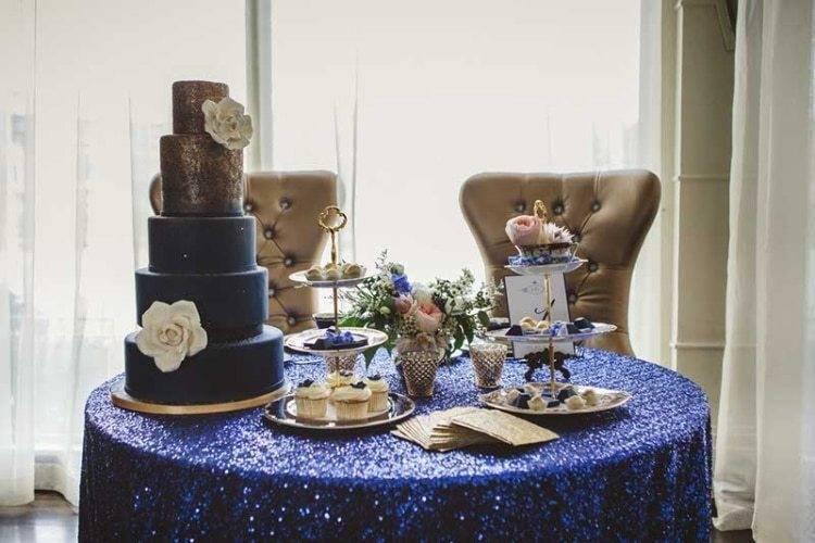 Vintage Style Wedding Cake