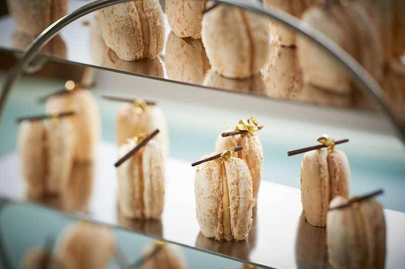 The Mandarin Oriental London - Macarons