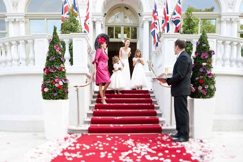 The Mandarin Oriental London - Entrance