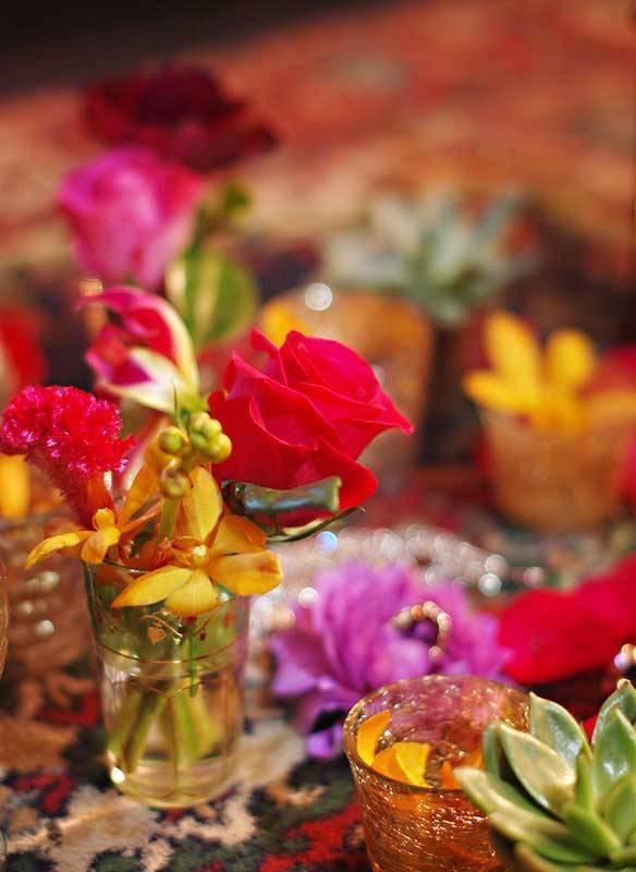 moroccan table detail www.blueskyflowers.co.uk - From £8