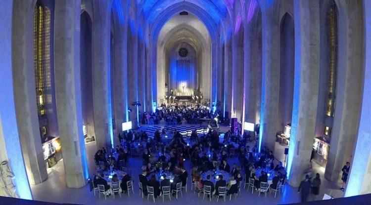 MGN events - Guildford Cathedral event lighting