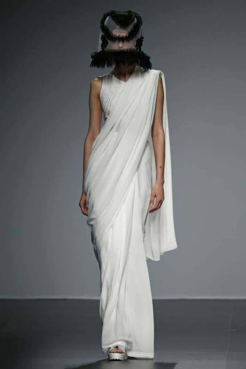 Sabrina Saree Barcelona Brial Week 2015