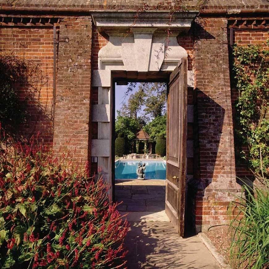 The magical 'secret garden' spa. Photograph courtesy of Cliveden House