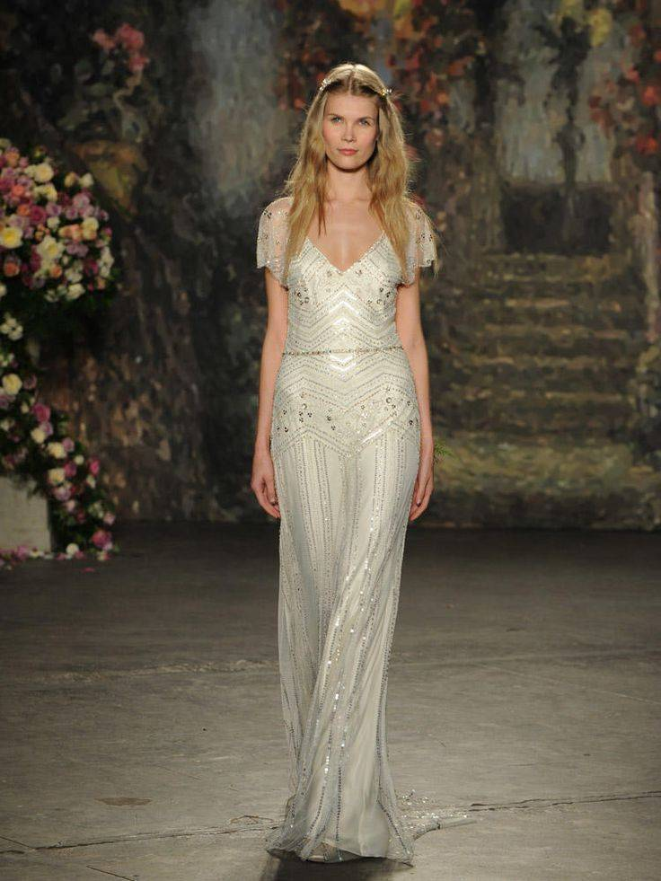 Jenny Packham Spring 2016 Wedding Gown