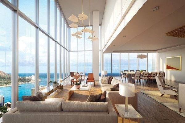 Ritz Carlton Residences Waikiki Beach Penthouse