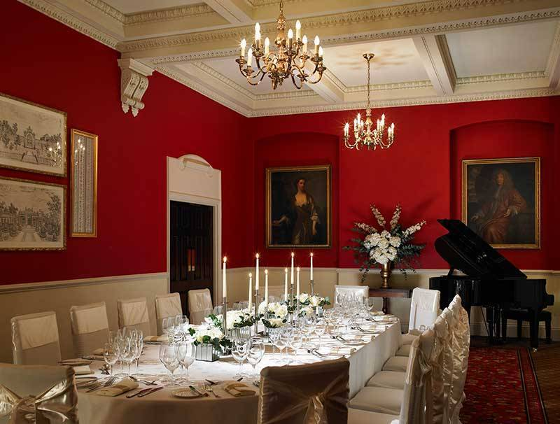 The Red Room at The Woburn Hotel