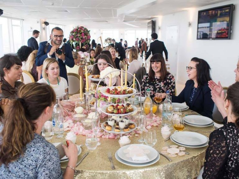 Feeling Giddy Over Bridal Luxury, at Altitude London