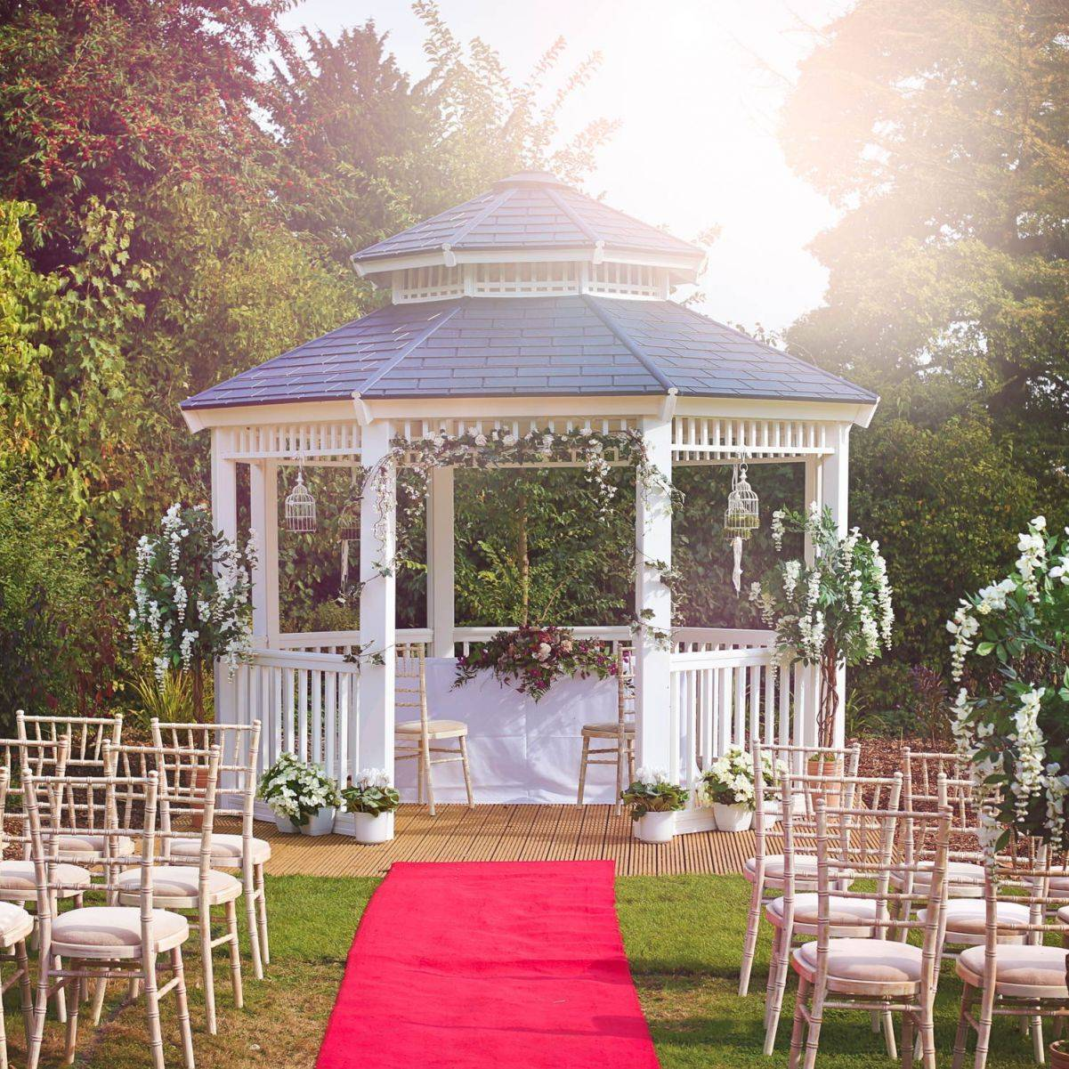 Horwood House Outdoor Wedding