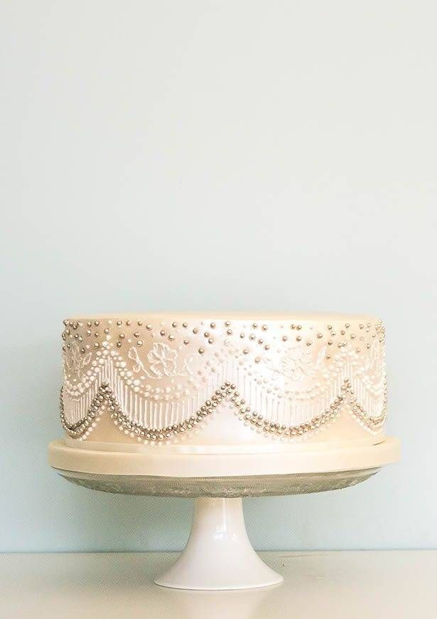 pearlised lace