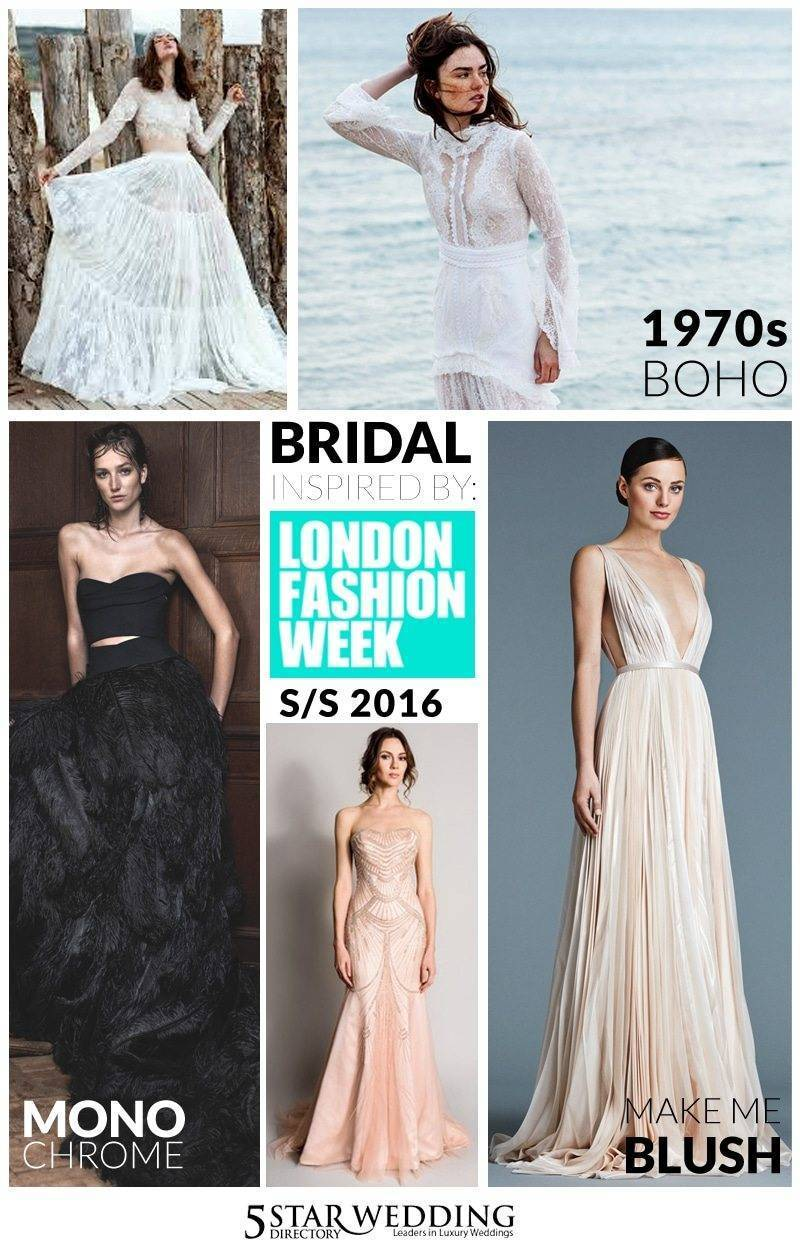 Bridal board - London Fashion Week Bridal Inspiration