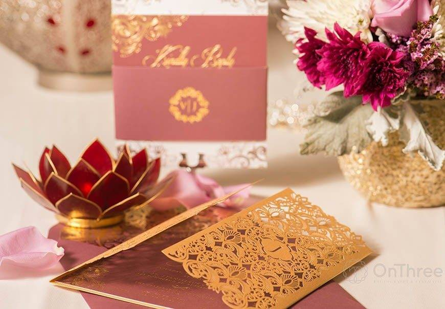 Vanessa Williams Wedding Invitations