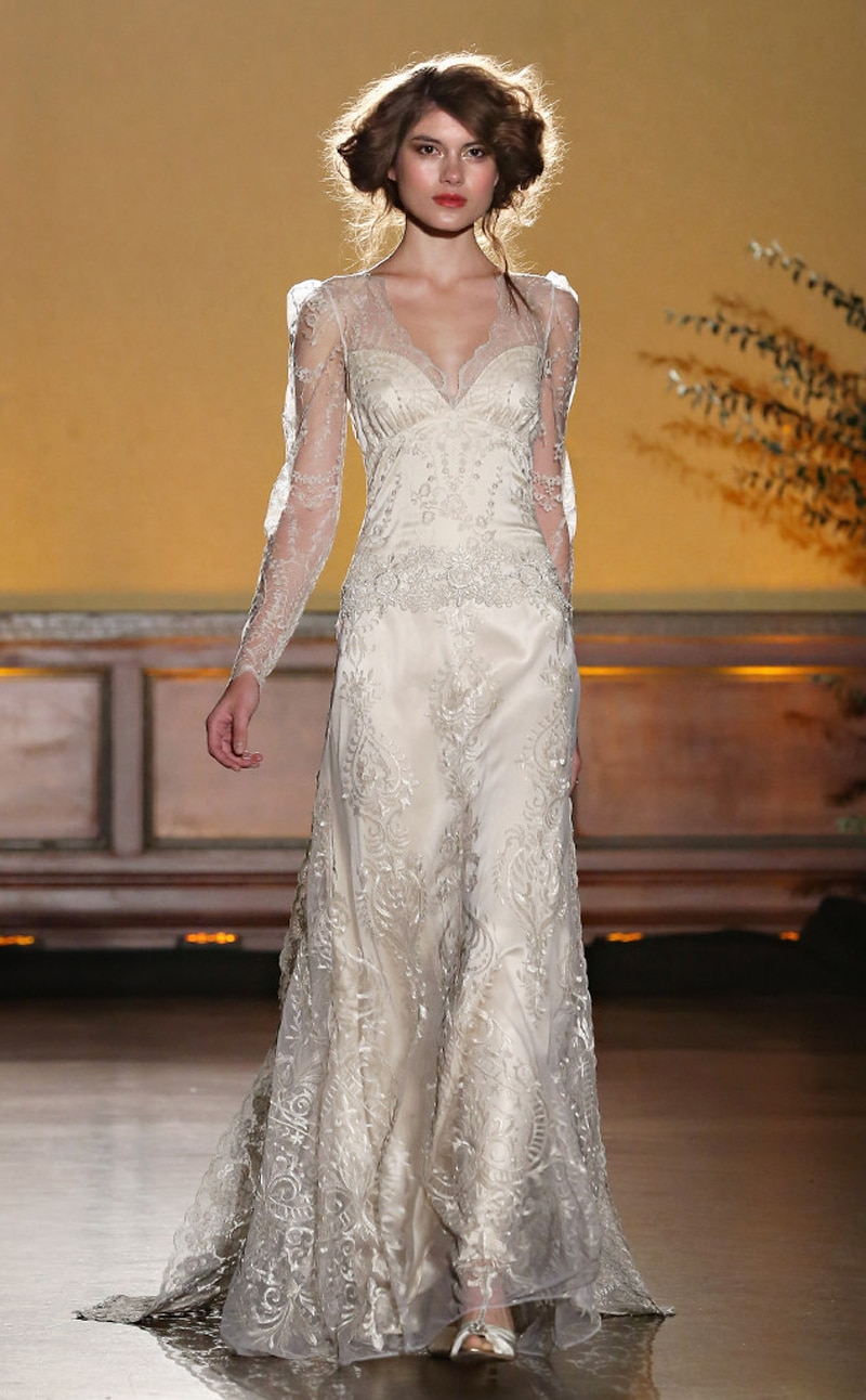 Claire Pettibone Cindy Ord slash Getty 1 - Five of the Best from New York Bridal Fashion Week