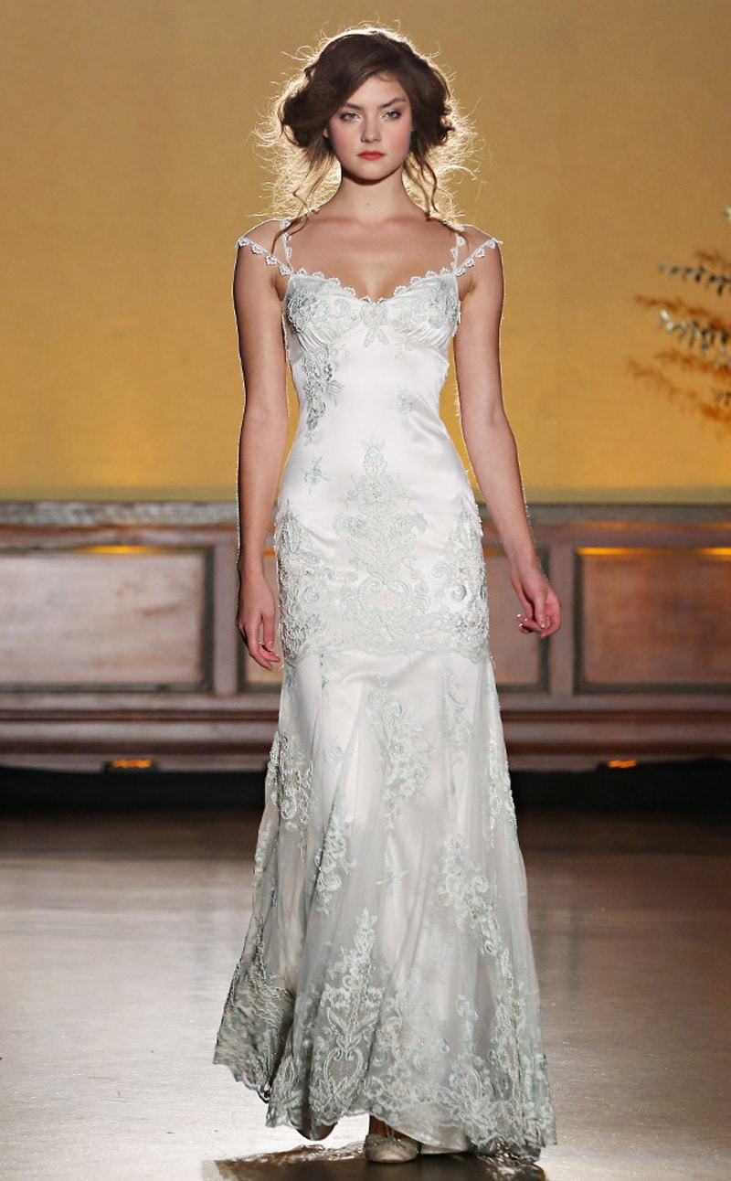 Claire Pettibone Cindy Ord slash Getty 2 1 - Five of the Best from New York Bridal Fashion Week