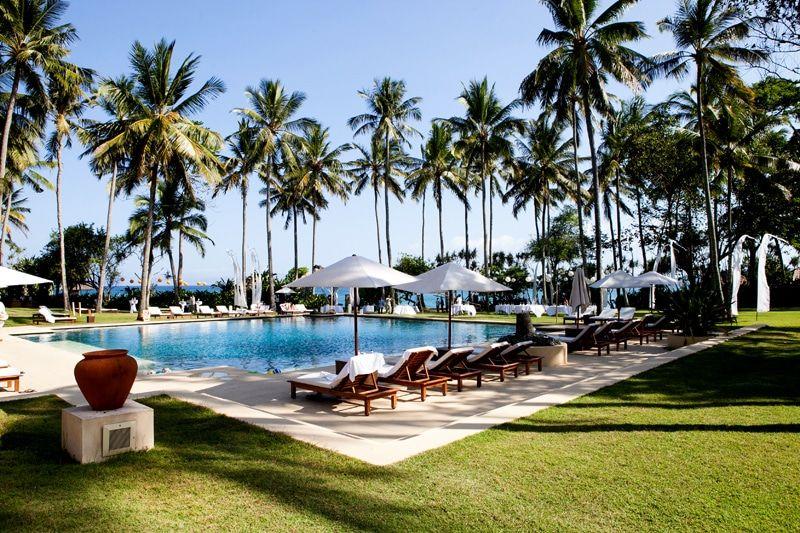 Pool at Alila Manggis Bali