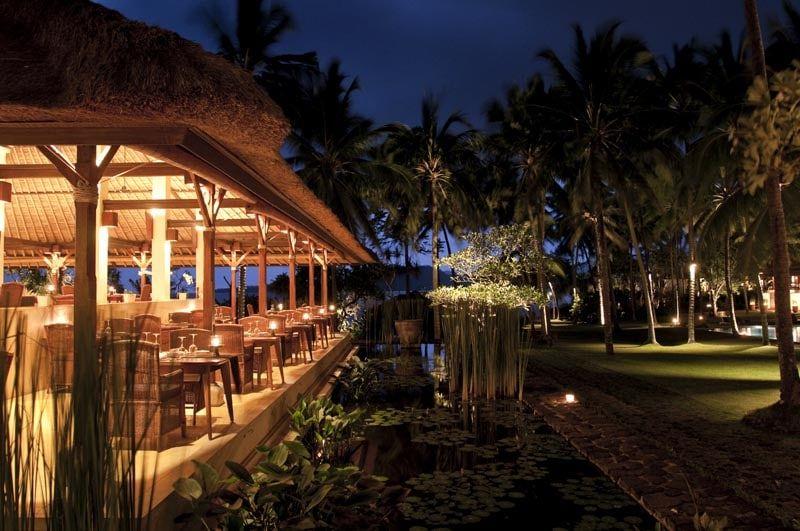 Alila Manggis Bali by night