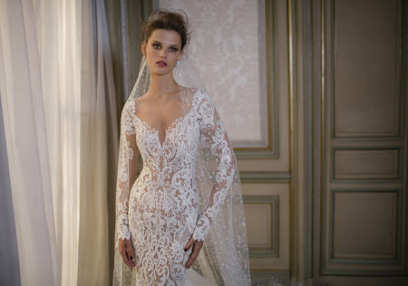 0O7A21571 450x316 - Berta Bridal bewitching fall 2016 collection