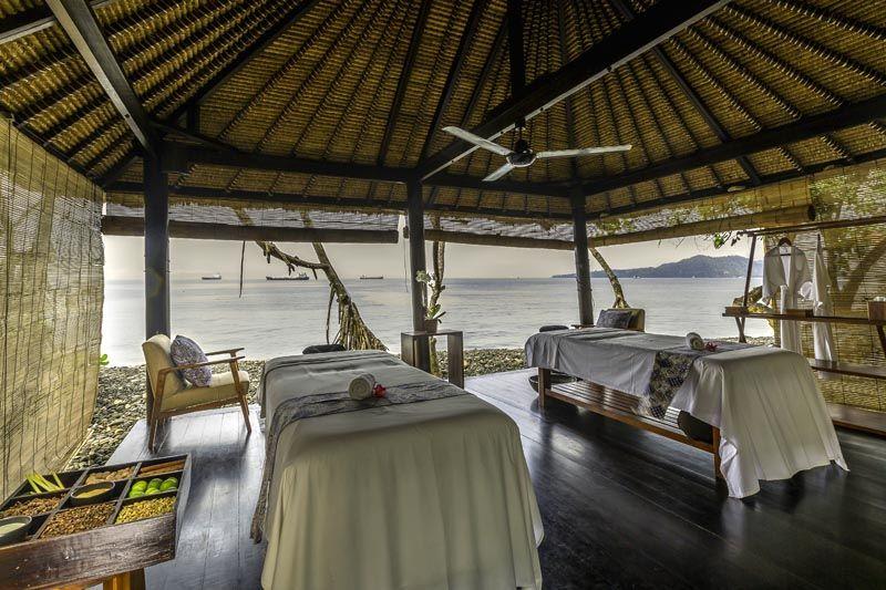 Thierry Dehove photography. Spa by the sea, Alila Manggis Bali