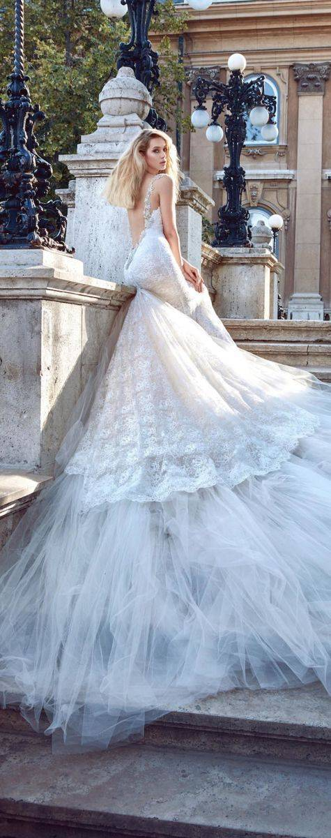 galia lahav fall 2016 ivory tower collection 1603 Elizabeth  - All you need is Lahav: Two breathtaking Fall 2016 bridal collections