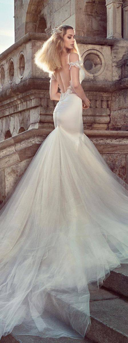 galia lahav fall 2016 ivory tower collection 1604 Diana B Tr - All you need is Lahav: Two breathtaking Fall 2016 bridal collections