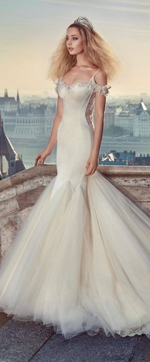 galia lahav fall 2016 ivory tower collection 1604 Diana Trai - All you need is Lahav: Two breathtaking Fall 2016 bridal collections