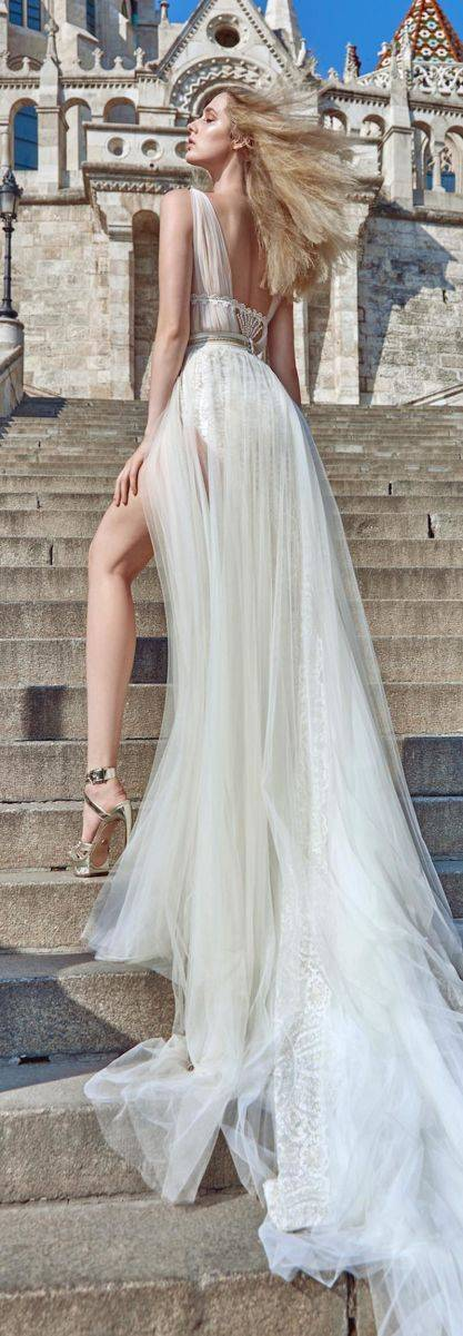 galia lahav fall 2016 ivory tower collection 1609 Flavia B 4 - All you need is Lahav: Two breathtaking Fall 2016 bridal collections