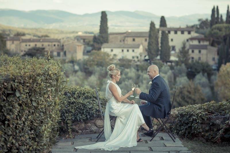 Real wedding in Italy