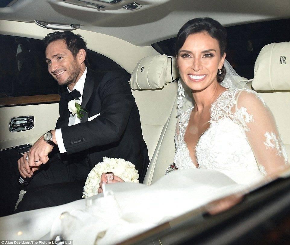 Christine Bleakley and Frank Lampard Wedding