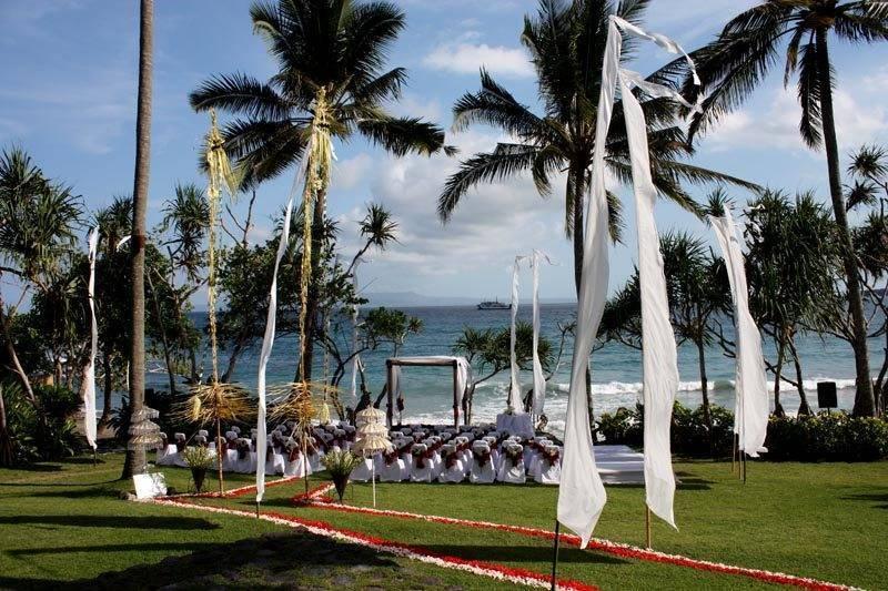 A wedding at Alila Manggis Bali