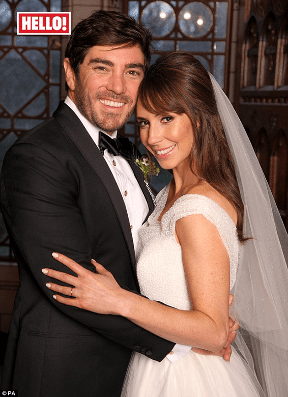 Alex Jones Wedding Day